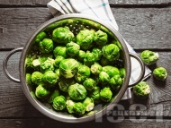 Рецепта Брюкселско зеле на пара в тенджера под налягане